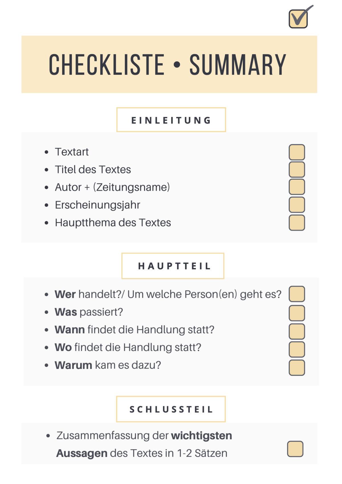 Checkliste • Summary JPG