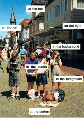 Bildbeschreibung Englisch - Darstellung