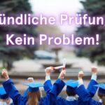 Mündliche Prüfung im Abitur