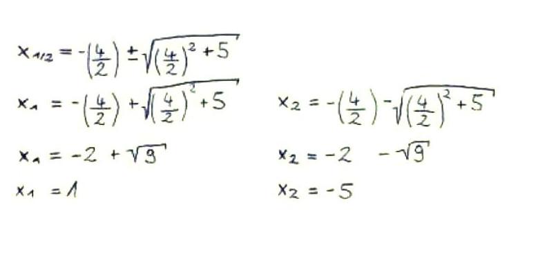 Nullstellen berechnen - Quadratische Funktion