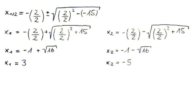 Nullstellen berechnen: pq-Formel anwenden