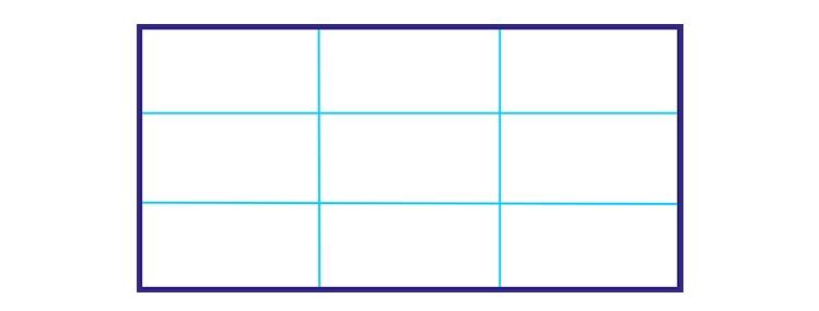 Bildbeschreibung - Aufbau, Hauptteil, Bildaufbau, Komposition, Drittel Regel