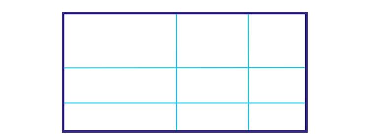Bildbeschreibung - Aufbau, Hauptteil, Bildaufbau, Komposition, Goldener Schnitt
