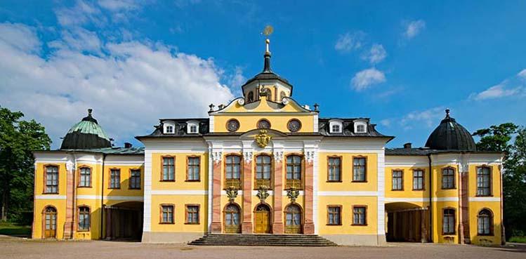 Weimarer Klassik - Schloss Belvedere in Weimar