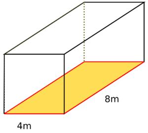 Umfang Quader