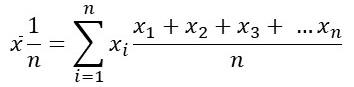 Arithmetisches Mittel Formel