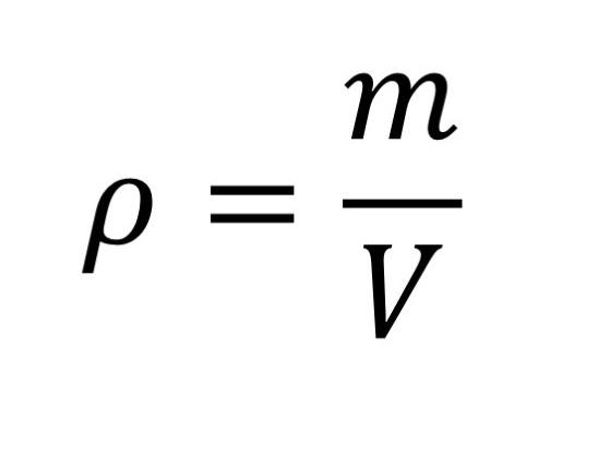 Formel zum Berechnen der Dichte