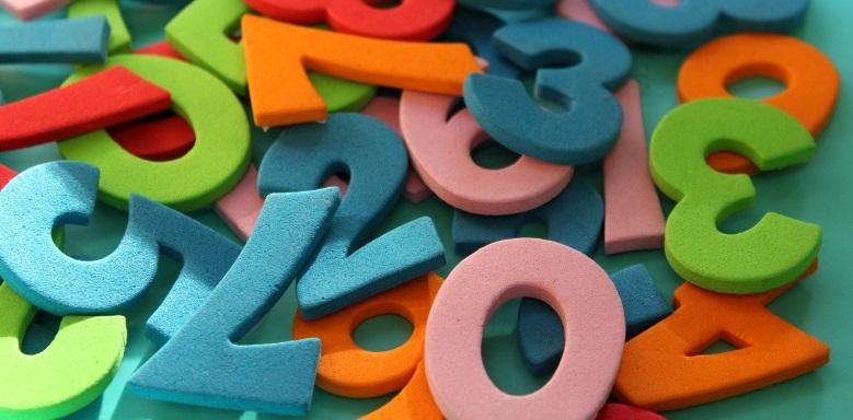 viele Zahlen als Datensatz für das arithmetische Mittel