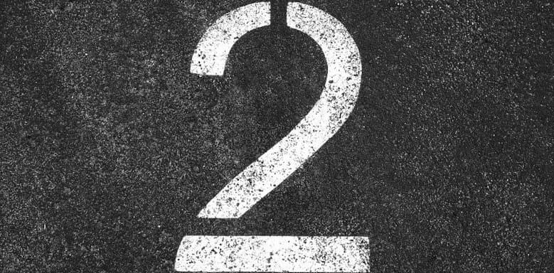 Die Zahl 2
