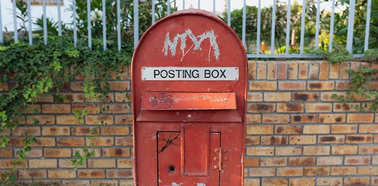 Postbox - Englisch Brief schreiben