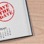 Datum auf Englisch - Titelbild Kalender