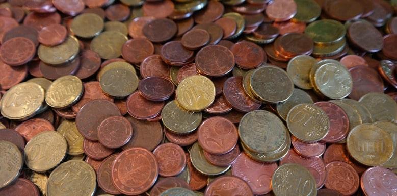 Verschiedene Münzen