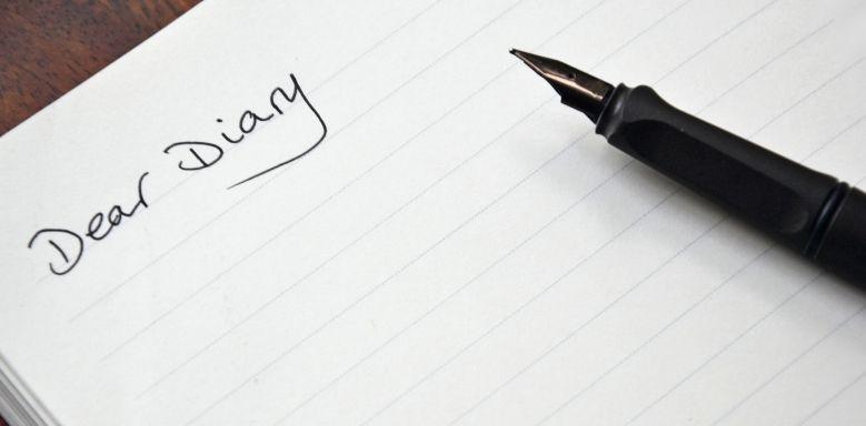Diary entry - Tagebucheintrag auf Englisch