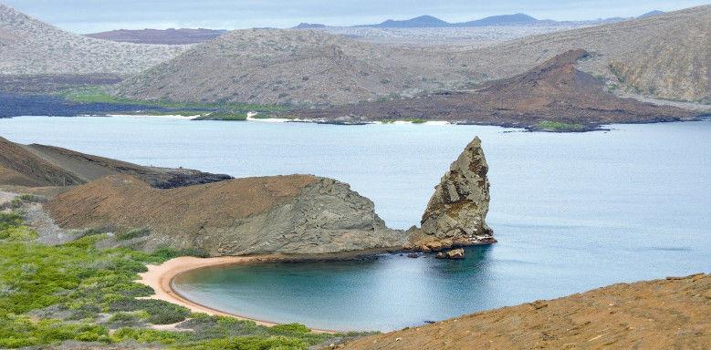 Galapagosinseln mit verschiedenen Lebensräumen