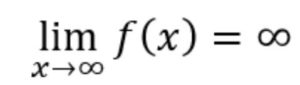 Grenzverhalten ganzrationaler Funktionen