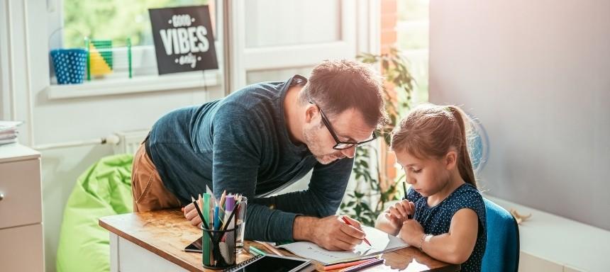 Eltern sollten Ihren Kindern erklären können, was Dyskalkulie ist und sie auf ihrem Weg der Therapie unterstützen