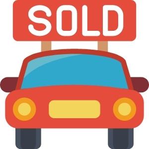 Ein Auto wurde gekauft bzw. verkauft