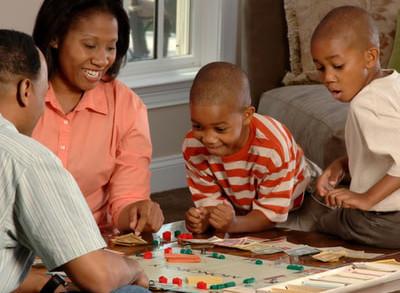 Familie Brettspiel