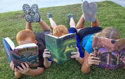 Kinder Buch lesen