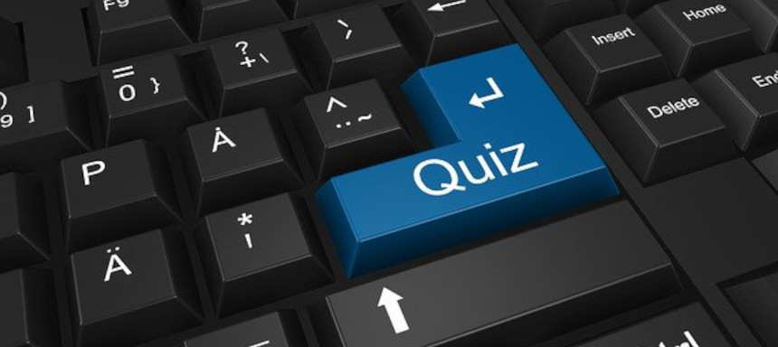Quizfragen für Kinder - Quiz Taste