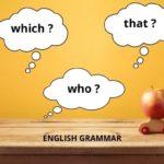 Englische Relativpronomen sind ein wichtiger Teil der englischen Grammatik