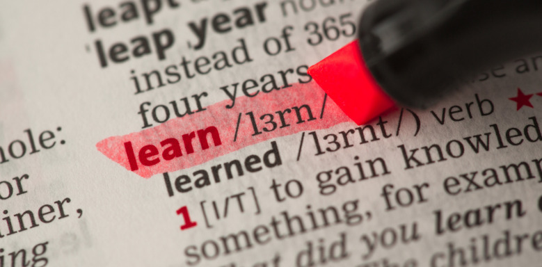 "Begriff ""learn"""
