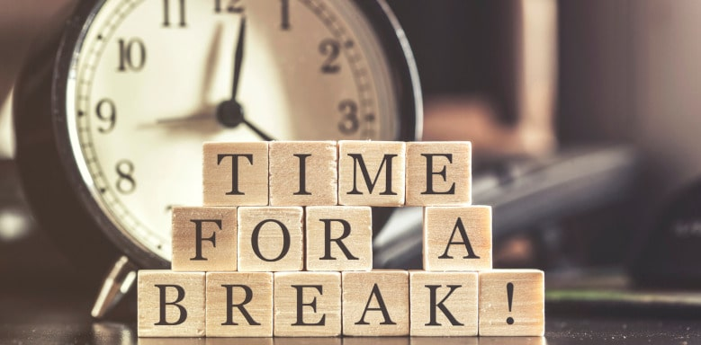 Zeit für Pause