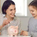 Mutter Töchter Taschengeld