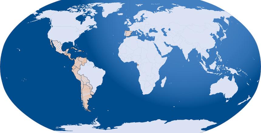 Spanisch ist eine Weltsprache und gilt in 21 Ländern als offizielle Amtssprache