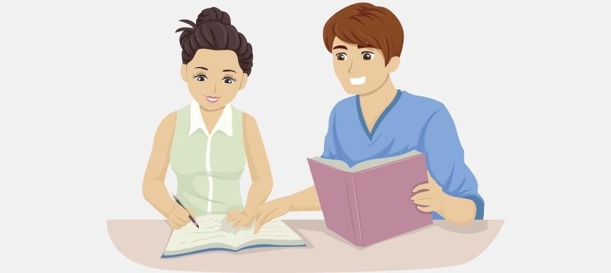 Ein Lernpartner kann die Motivation zum Sprachen lernen steigern