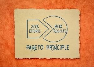 80% der Ergebnisse durch 20% des Aufwandes