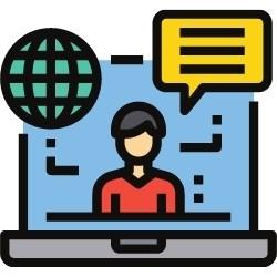 Online Sprachunterricht