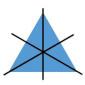 Achsensymmetrie - Dreieck