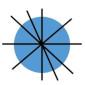 Achsensymmetrie - Kreis