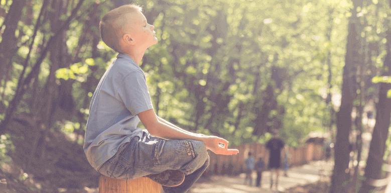 Meditieren für Kinder Beitragsbild