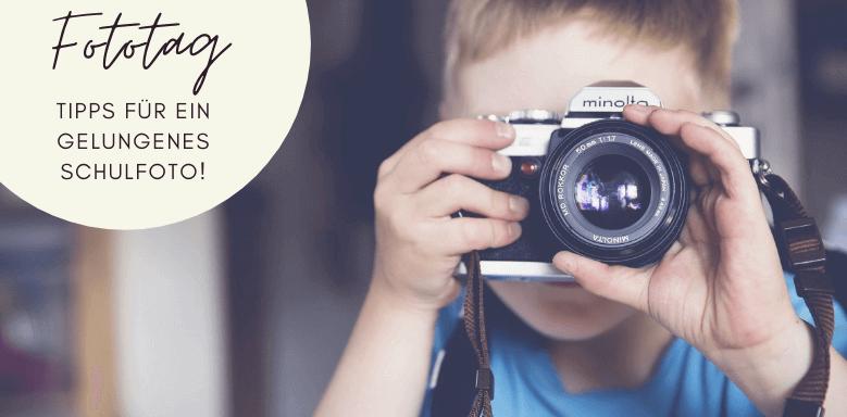 Junge mit Kamera