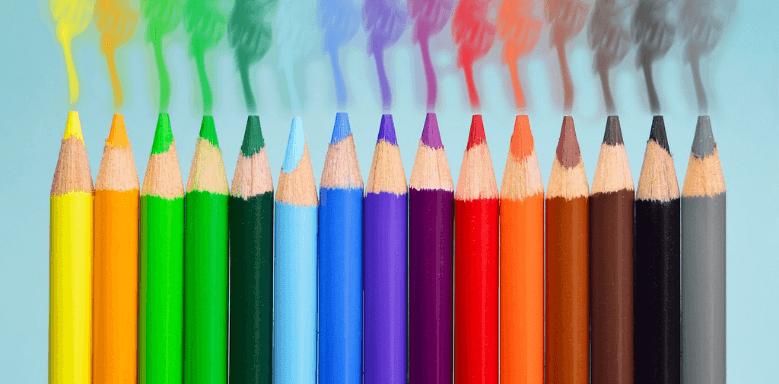 Einschulung Materialien: Buntstifte