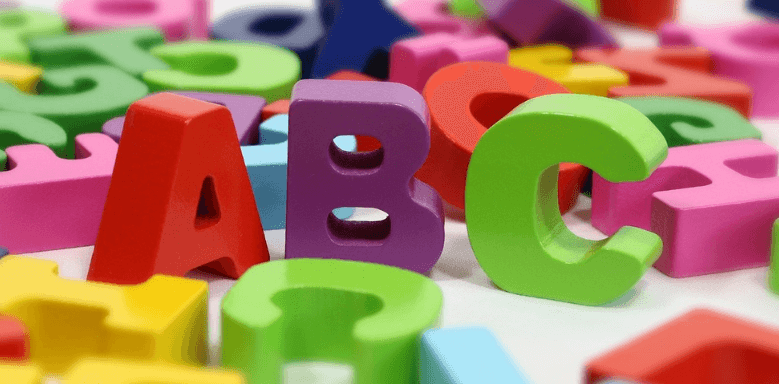 Lesen lernen Buchstaben