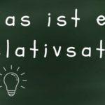 Relativsatz Titelbild