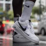 Nike-Socken und Nike-Schuhe