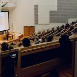 Hörsaal an der Universität