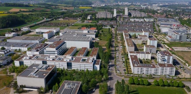 Roche-Industriegelände
