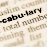 "Begriff ""vocabulary"""