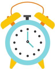 Uhr Zeitform