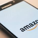 Smartphone mit Amazon-App